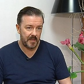 ricky gervais golden globes iii interview