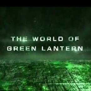 the world of green lantern featurette