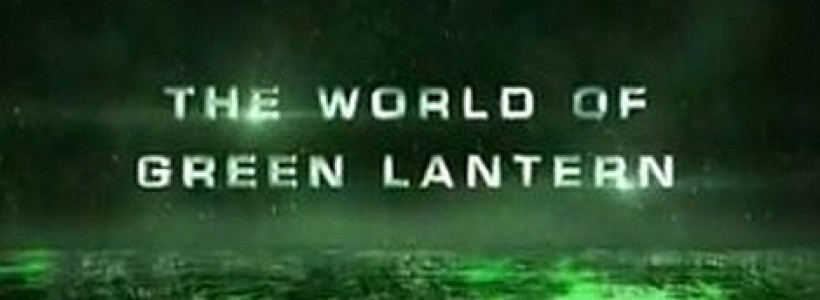 Green Lantern gets a video featurette