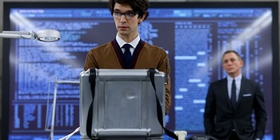 Skyfall: Ben Whishaw Schools Daniel Craig's James Bond in First Official Q Pic