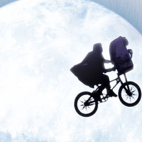 ET The Extra-Terrestrial London Cyclist Blu-ray 30th Anniversary