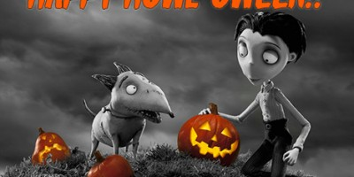 Sparky from Tim Burton's Frankenweenie says Happy Howl-oween! [VIDEO]