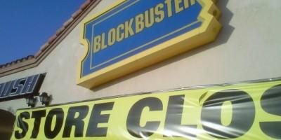 Blockbuster UK follows HMV into administration
