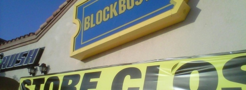 Blockbuster UK follows HMV into administration