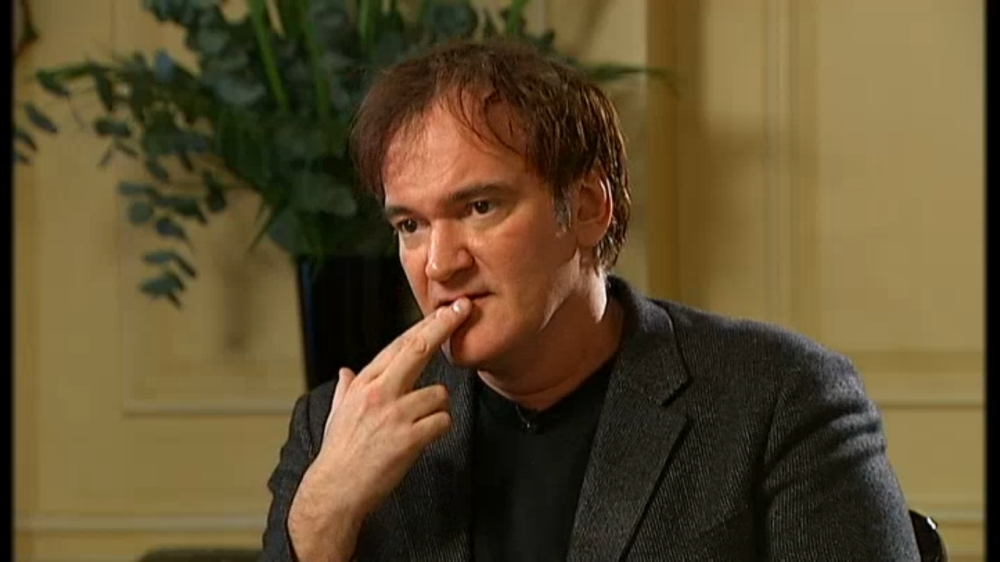 Quentin Tarantino interview Krishnan Guru-Murthy Channel 4 news