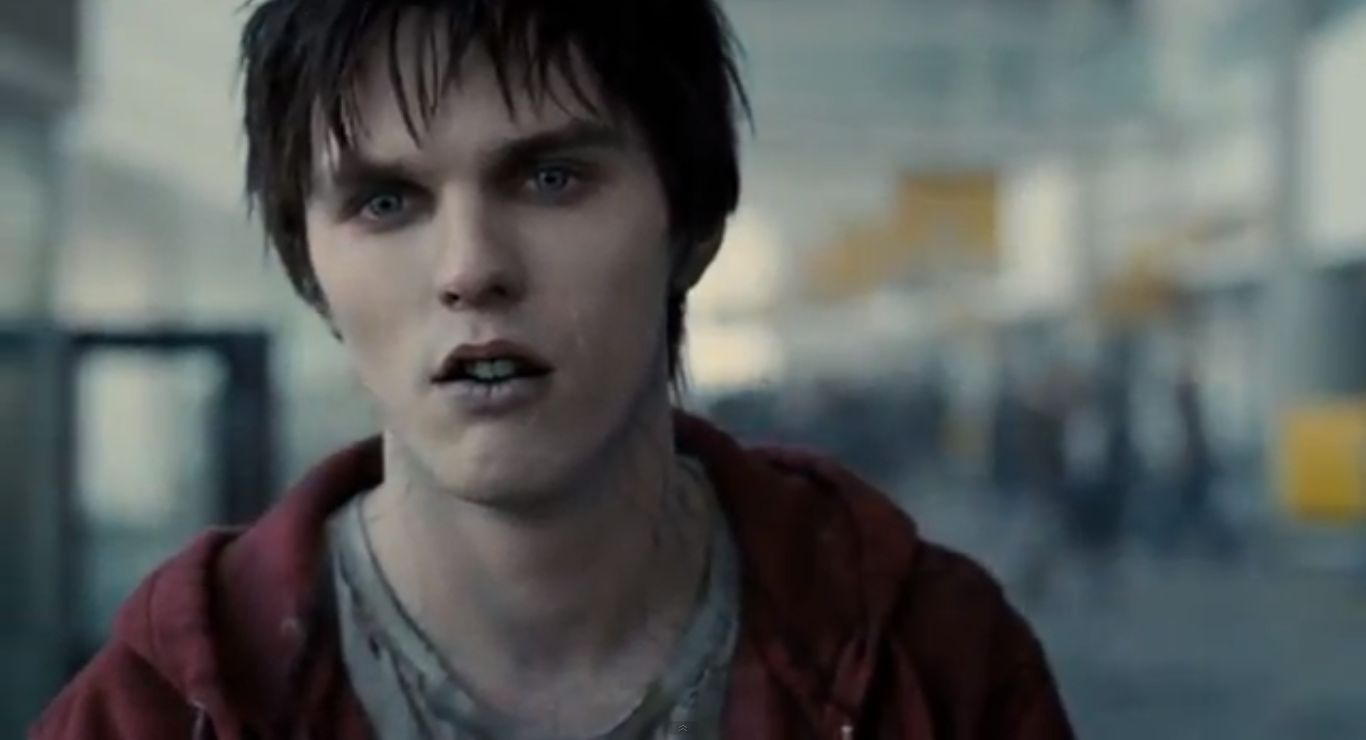 Warm Bodies Nic Hoult first four minutes zombie love story