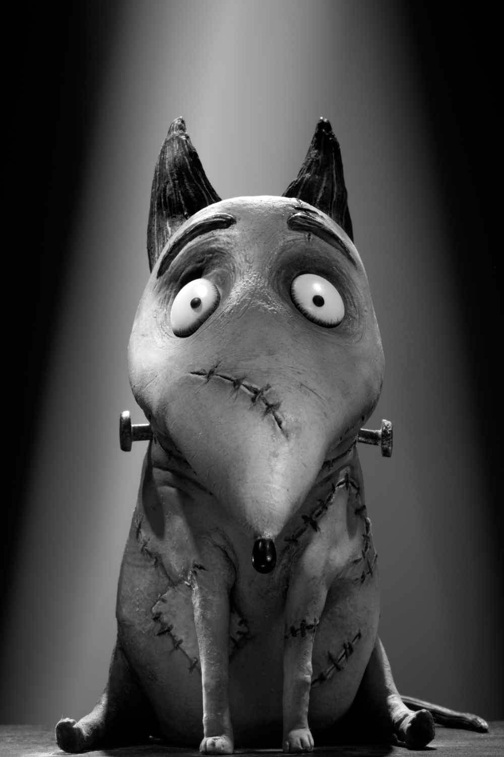 Frankenweenie Sparky the dog reanimated