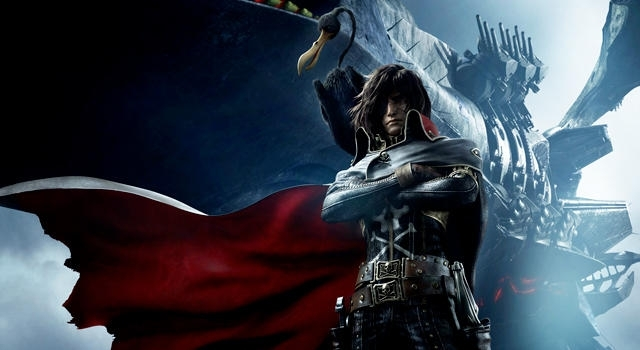 Space Pirate Captain Harlock promo