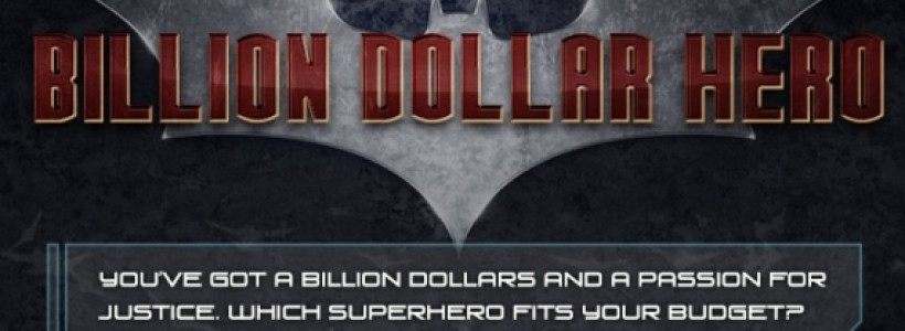 Batman and Iron Man: Which one has the biggest home insurance bill?