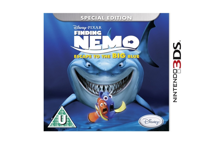 Finding Nemo Escape To The Big Blue Special Edition Nintendo 3ds packshot