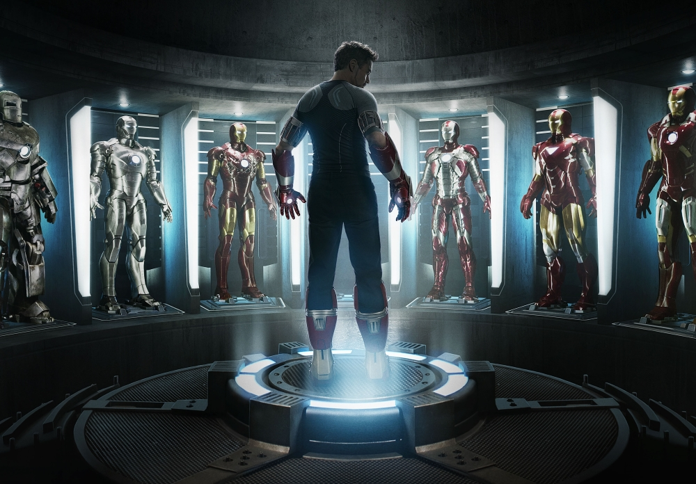 Iron Man 3 Tony Stark Robert Downey Jr choice of suits