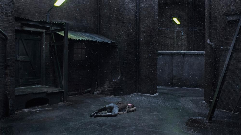 Nymphomaniac Charlotte Gainsbourg alley Lars von Trier