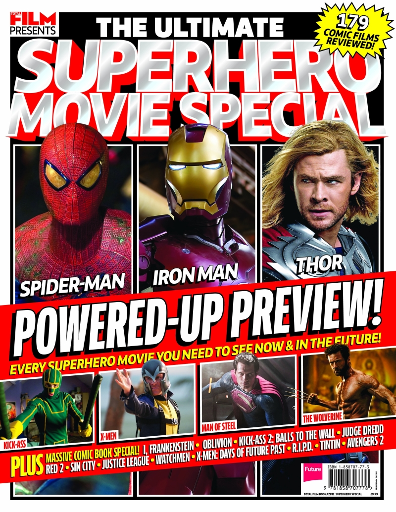 The Ultimate Superhero Movie Special Bookazine in association with Total Film cover