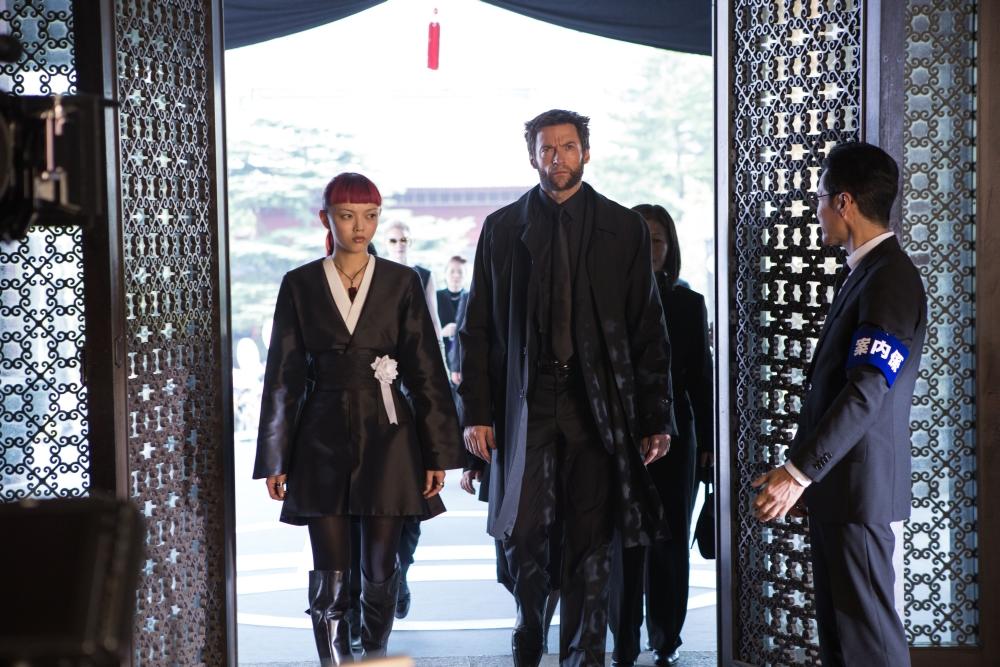 The-Wolverine-Hugh-Jackman-Rila-Fukushima-as-Yukio