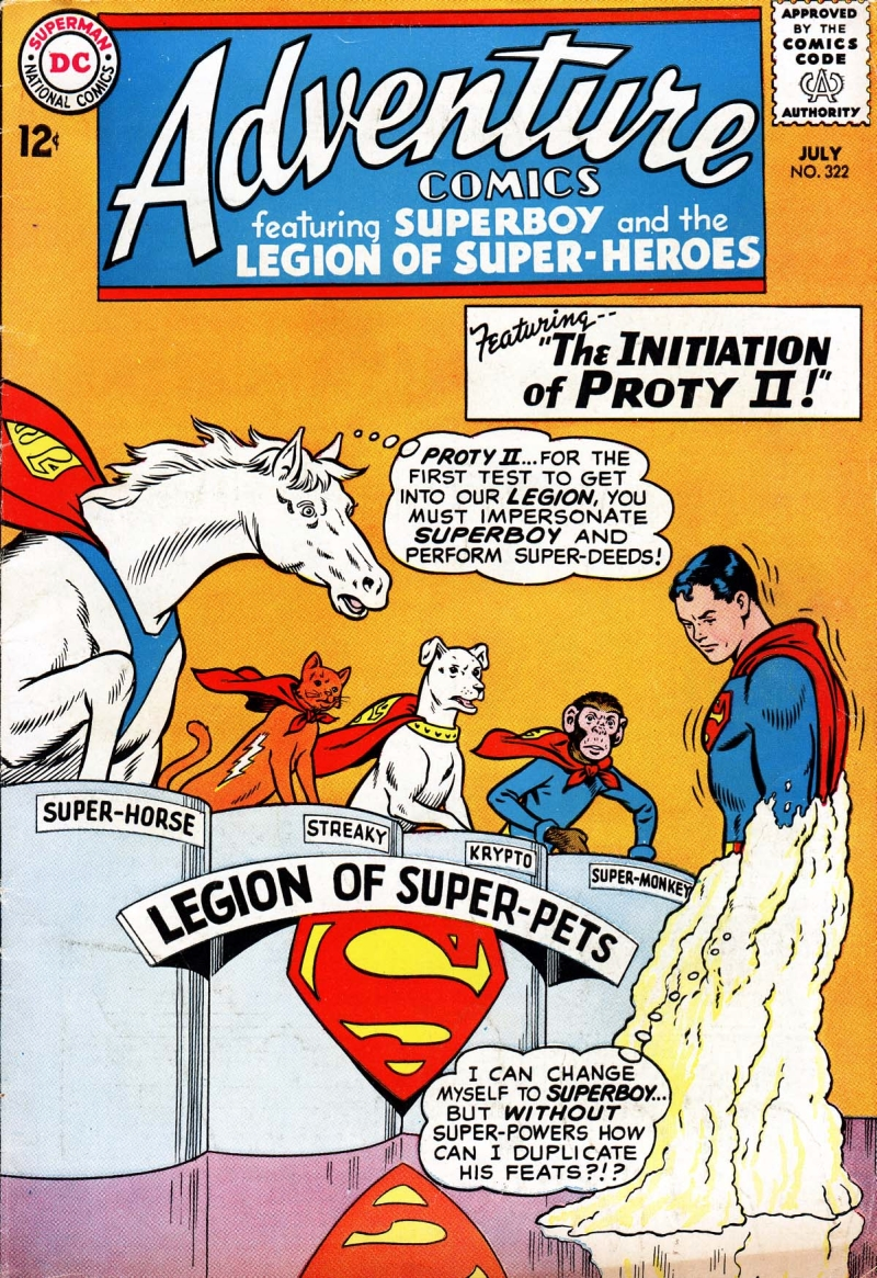 Legion Of Super-Pets comic book cover
