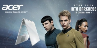 Star Trek Into Darkness: Acer UK hosts Facebook competition