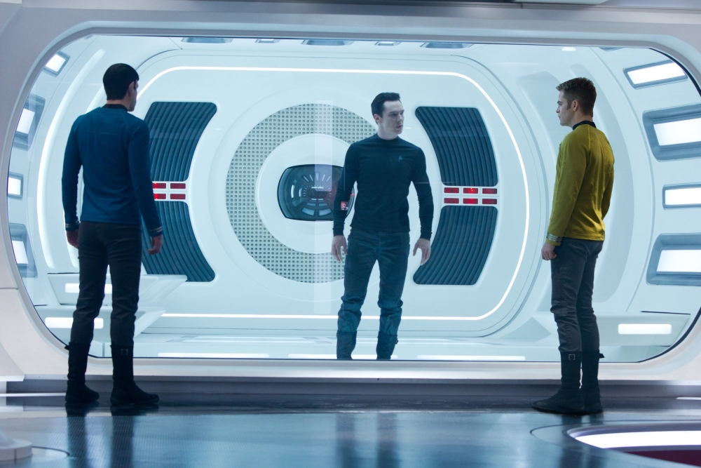 Star Trek Into Darkness Benedict Cumberbatch Chris Pine Zachary Quinto