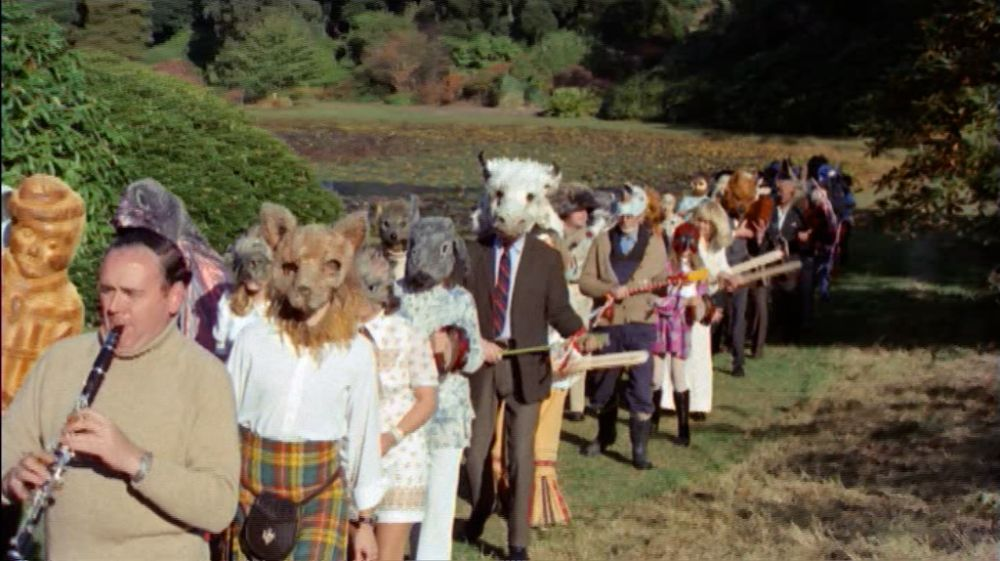 The Wicker Man parade animals