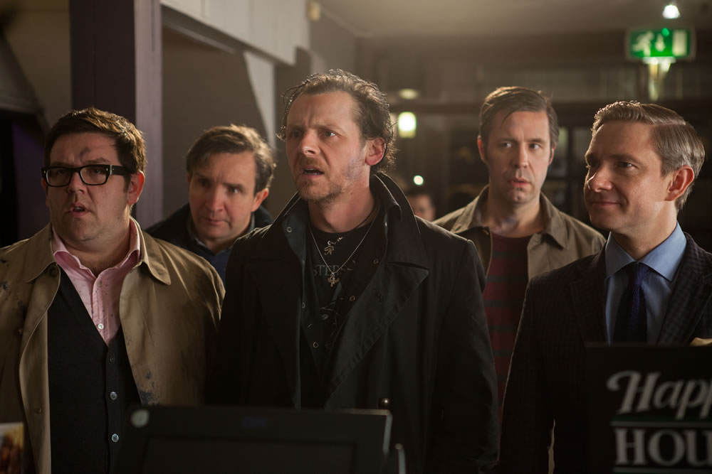 The Worlds End Simon Pegg Nick Frost Paddy Considine Martin Freeman Eddy Marsden