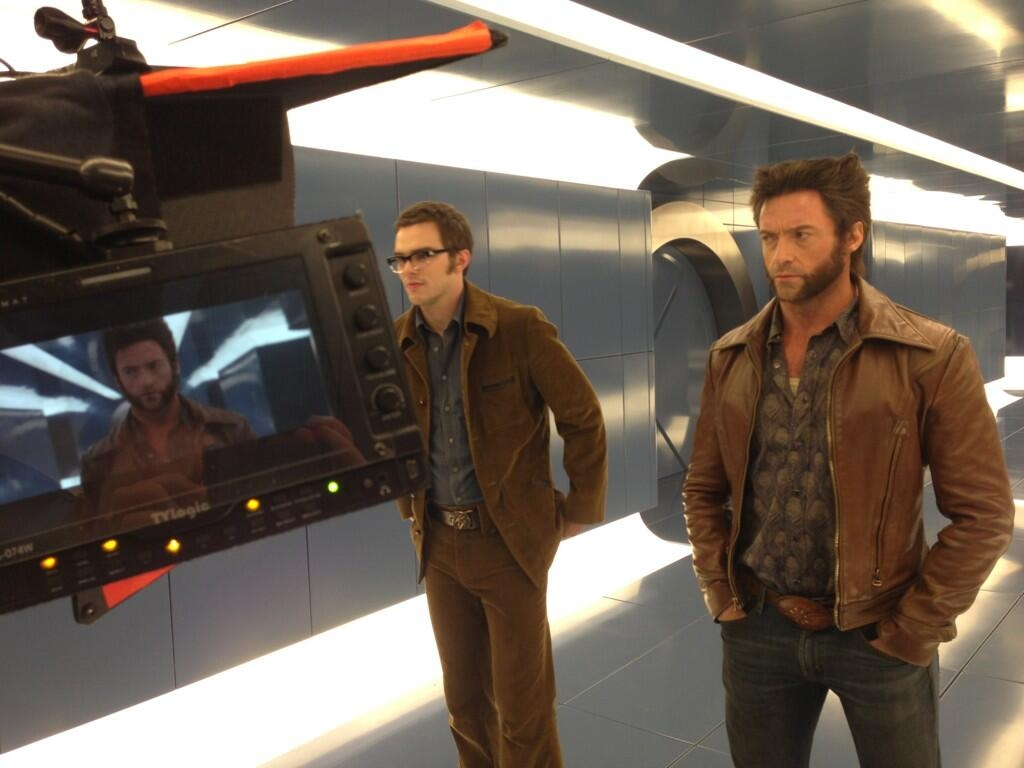 X-Men Days Of Future Past Wolverine Hugh Jackman Beast Nicholas Hoult Welcome to 1973