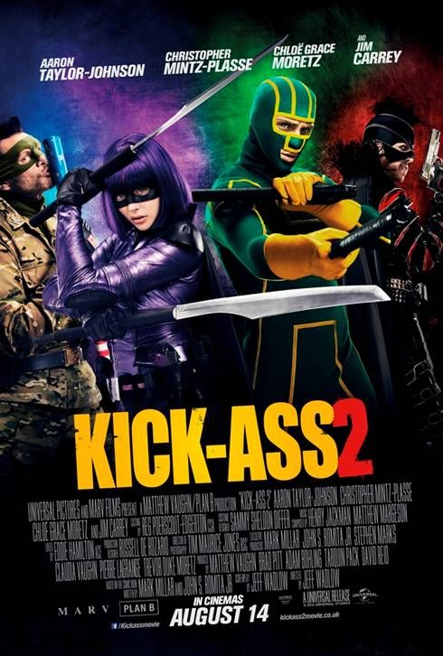 Kick-Ass 2 poster new international version