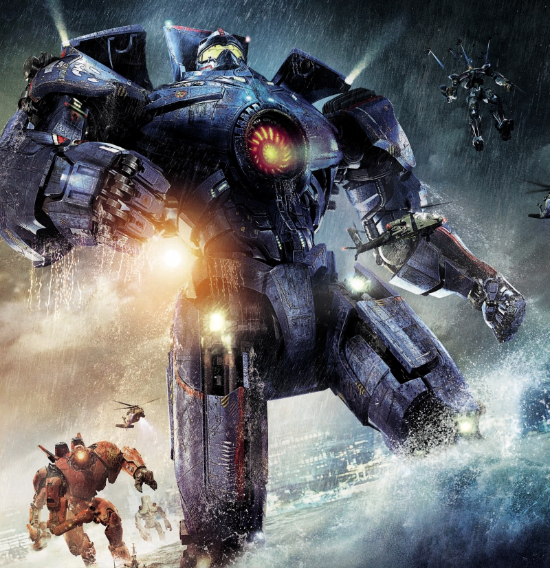 Pacific Rim poster Jaegers Gypsy Danger