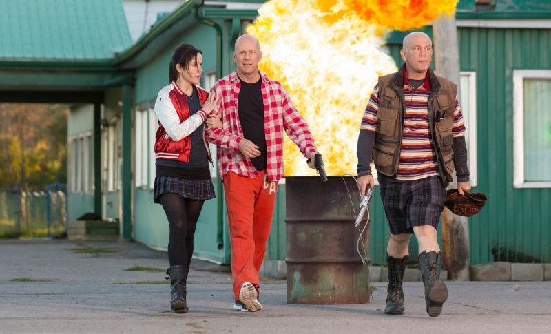 RED 2 Bruce Willis John Malkovich Mary Mary Louise Parker explosion