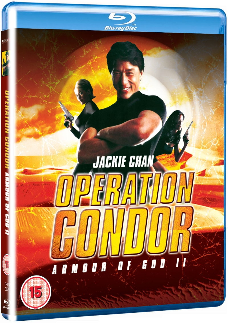 Operation Condor Armour Of God II blu-ray sleeve 3D