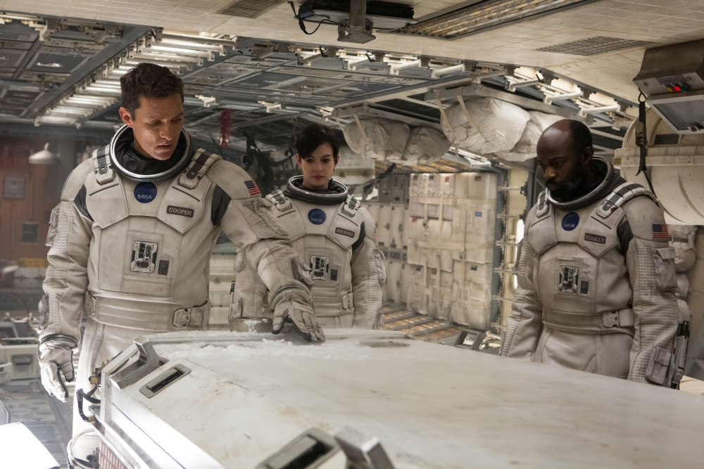 Interstellar Matthew McConaughey Cooper Anne Hathaway David Gyasi