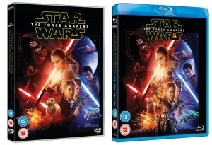 Star Wars The Force Awakens packshot Blu-ray and Blu-ray