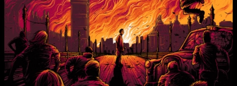 Secret Cinema 28 Days Later: awesome new Dan Mumford poster