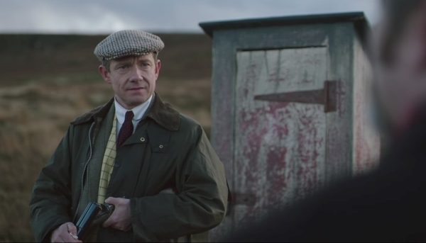 Ghost Stories movie Martin Freeman shotgun
