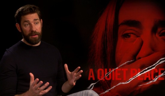 John Krasinski interview: I'll have an anxiety attack, then we can talk Oscars
